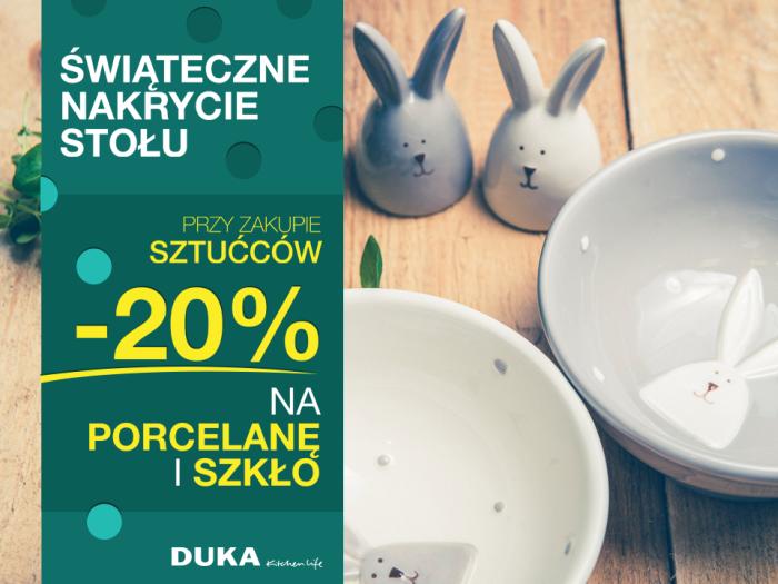 Do 30% rabatu na wybrane produkty @ Duka