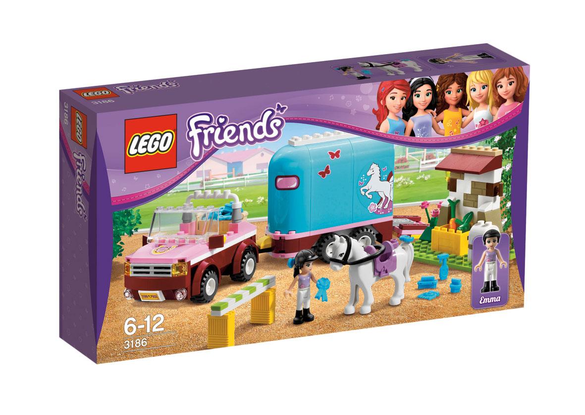 LEGO Friends 3186 Przyczepa dla konia Emmy TANIEJ niż na ALLEGRO!