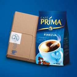 Paczka kawy Prima 200g z darmowa wysyka za granice