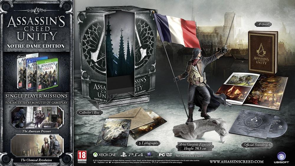 Assassin's Creed Unity - Edycja Notre Dame (Playstation 4, Xbox One) za 199zł @ Euro.com.pl