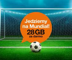 28 GB ZA FREE* na 10dni od ORANGE