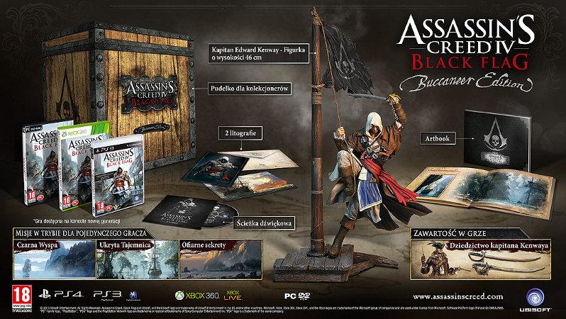 Assassin's Creed IV:  Black Flag - Edycja Bukaniera (X360) za 149,90zł @ Komputronik