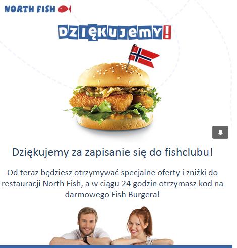 DARMOWY Fish Burger @North Fish