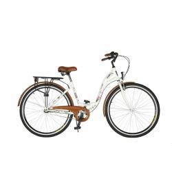 Rower miejski DAWSTAR Retro Citybike (biały) w cenie 649zł + darmowa dostawa @ Electro