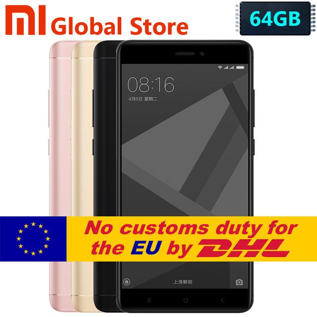Smatfon Xiaomi Redmi Note 4X 4/64 dualSIM cena z wysyłką DHL z Anglii @Aliexspress