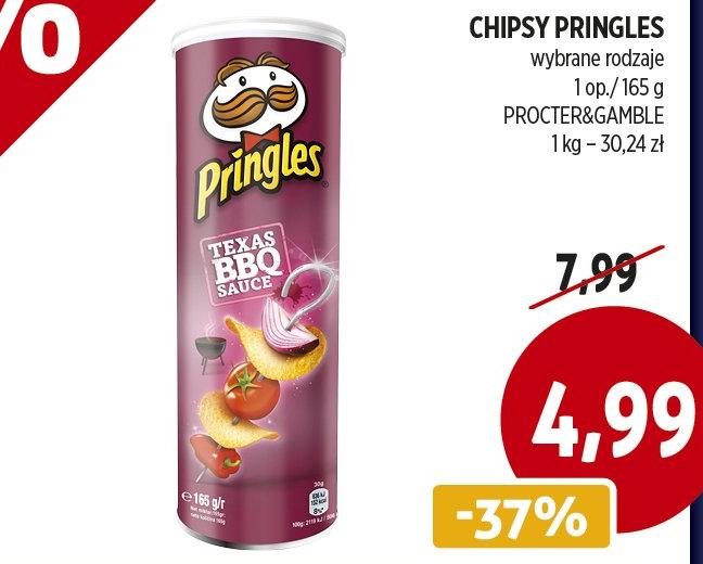 Czipsiorki Pringles w Piotrze i Pawle