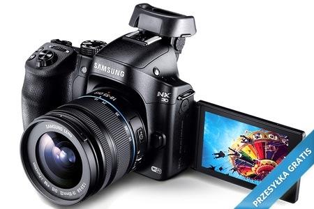 Samsung NX30 + obiektyw 18-55 mm za 2299 zł @ Grupon