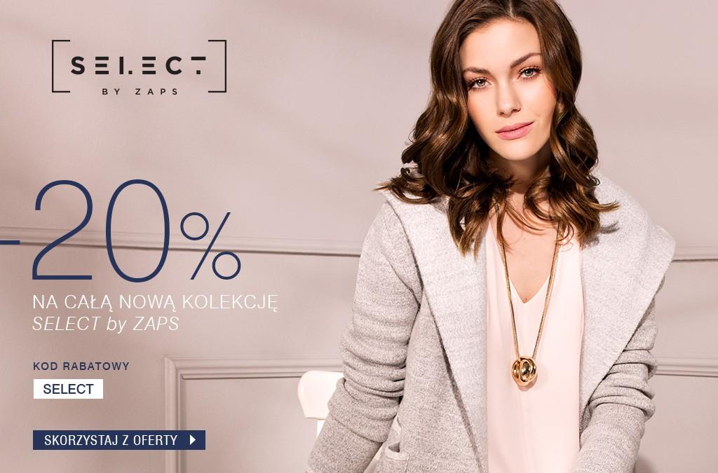 -20% na całą nową kolekcję SELECT by Zaps