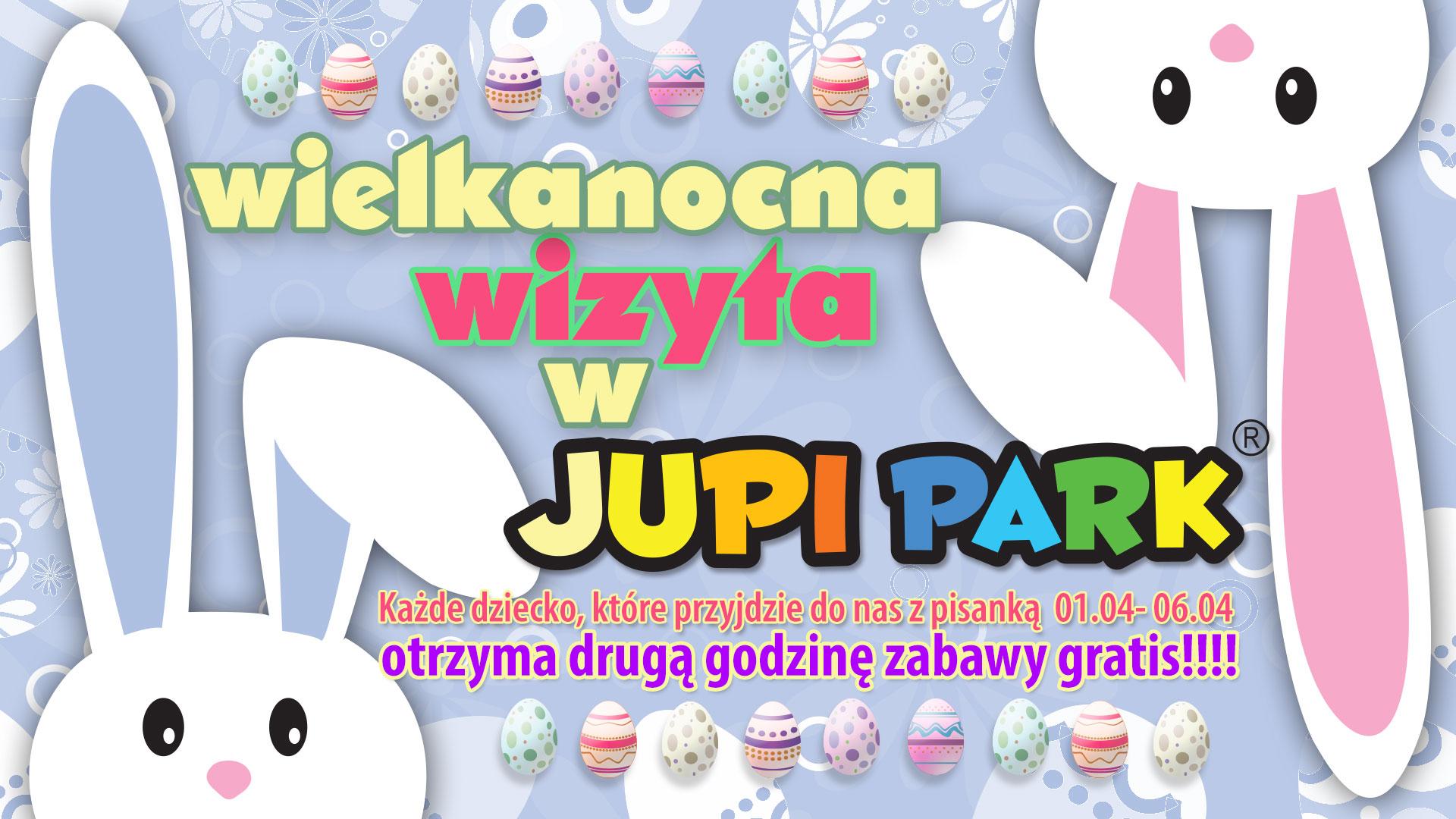 Druga godzina zabawy gratis @ Jupi Park
