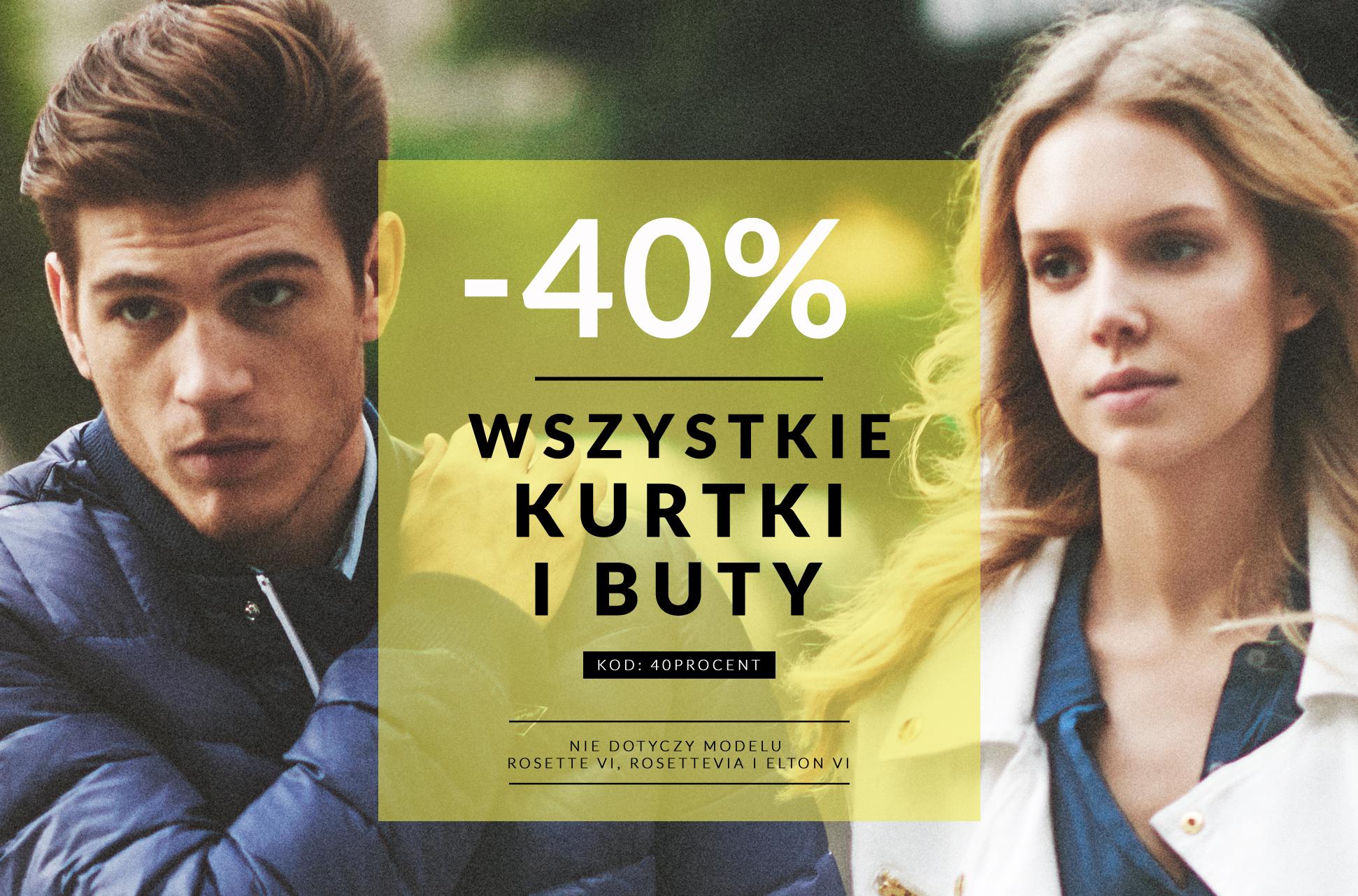 -40% na wszystkie buty i kurtki @Diverse