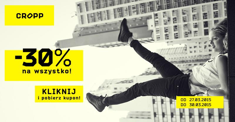 Kupon rabatowy -10% na WSZYSTKO @Cropp