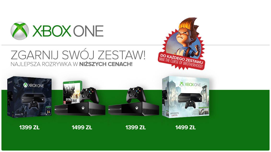 Promocje na XBOX ONE (w zestawie z Halo: The Master Chief Collection już za 1399zł) @ Gram.pl