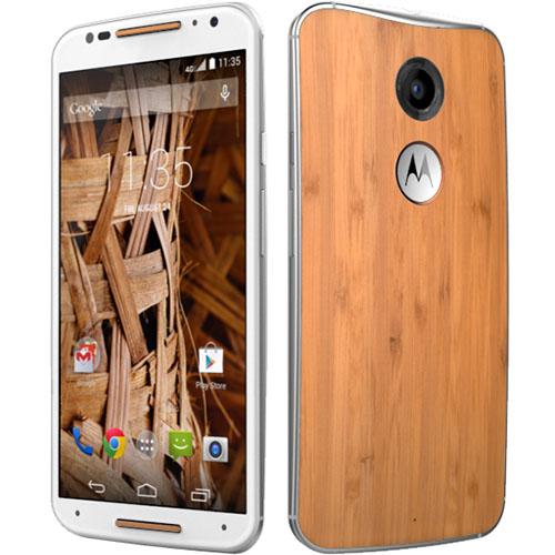 smartfon Motorola Moto X 2nd Gen. (biała/drewno lub czarna/skóra) @OleOle