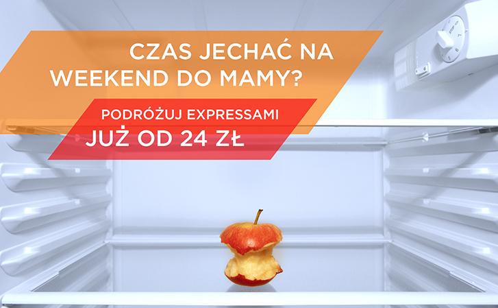 Promocja dla studentów - podróż Expressem od 24zł @ PKP Intercity