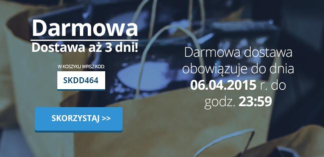 Darmowa dostawa na dowolne zamówienie @SuperKoszyk.pl