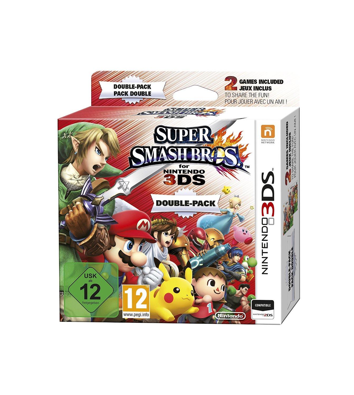Super Smash Bros Limited Edition na Nintendo 3DS (zestaw zawiera 2 kopie gry!) za 218zł @Amazon.It