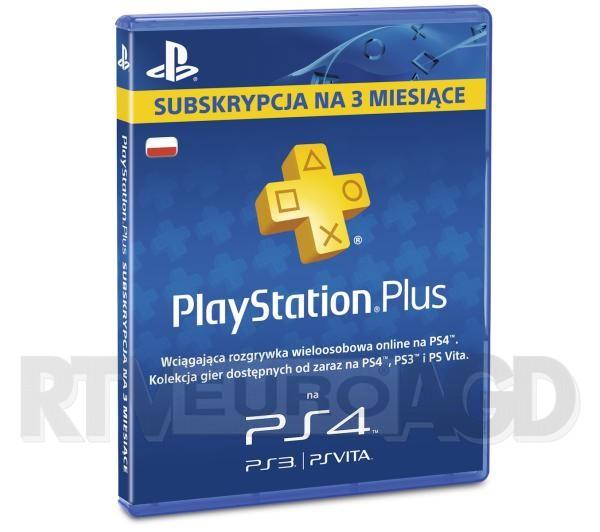abonament Playstation Plus na 90zł za 52,99zł @Euro