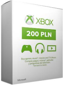 Doładowanie Xbox Marketplace 200zł za 154,90zł @keye.pl