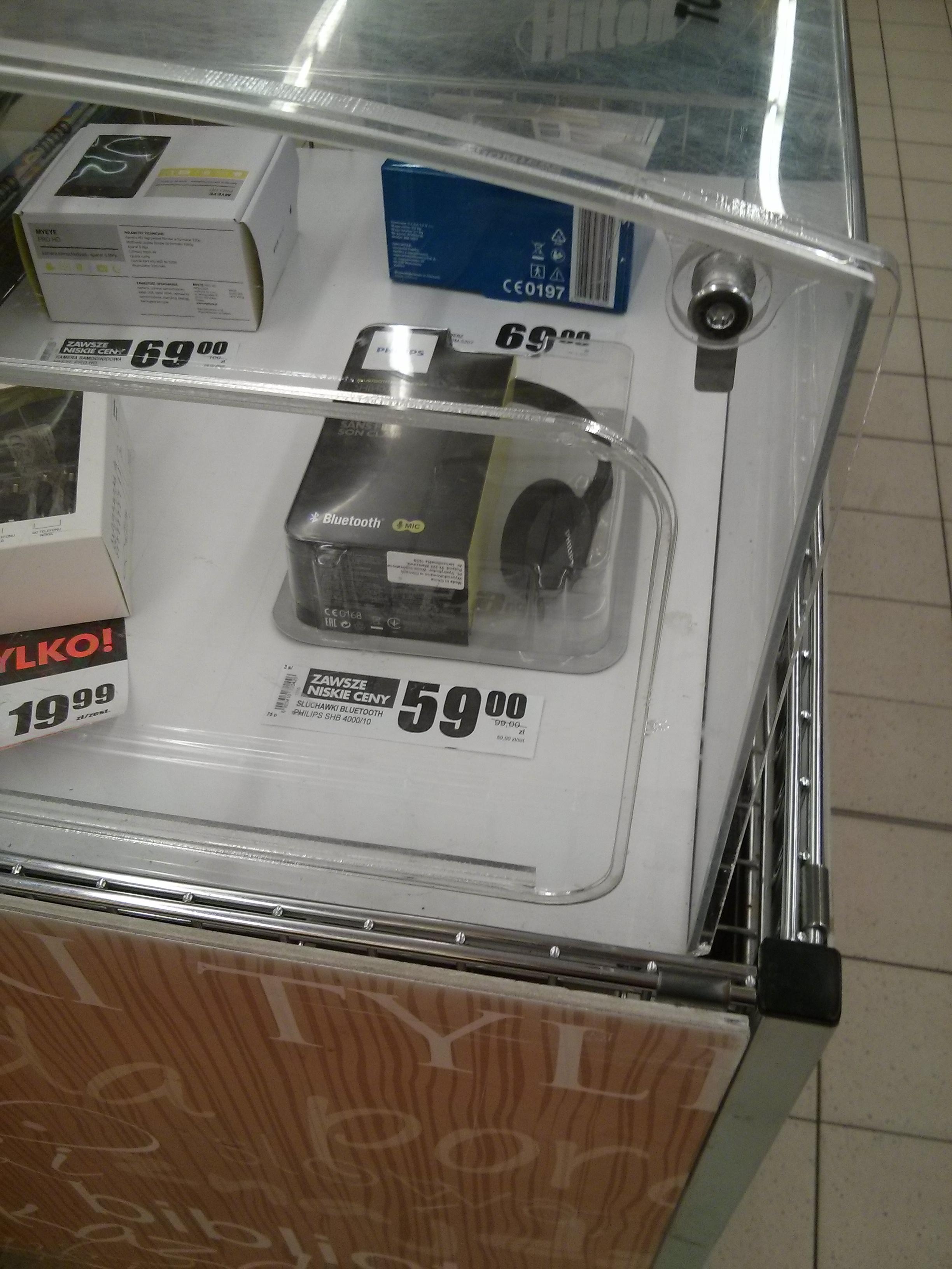Słuchawki Bluetooth Philips SHB4000 za 59 zł @ Biedronka