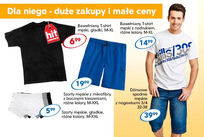 T-shirt męski za 7zł i inne okazje odzieżowe dla całej rodziny @ Pepco