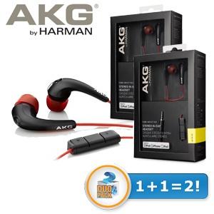 DWIE PARY słuchawek dousznych AKG K328VRD z wbudwanym mikrofonem i kontrolerem głośności za 114,90zł @ Ibood
