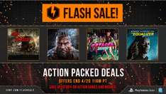 Flash Sale (np. Lords of the Fallen - PS4~90zł) @ PSN US