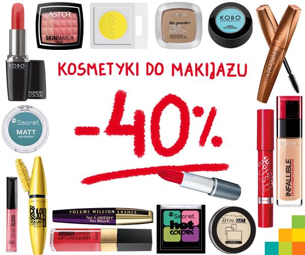 40% rabatu na kosmetyki do makijażu! @ Natura