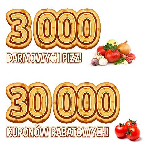 Kod na -55% lub darmową pizzę --> dla gimnazjalistów @ Telepizza