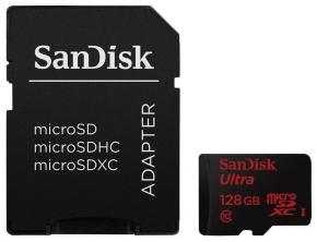 Karta pamięci Sandisk 128GB microSDXC Ultra Android Class10 48MB/s @ X-Kom