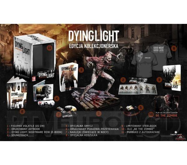 Dying Light - Edycja Kolekcjonerska na PC/Playstation4/Xbox One (figurka, koszulka, artbook i inne!) 60zł taniej @ Euro