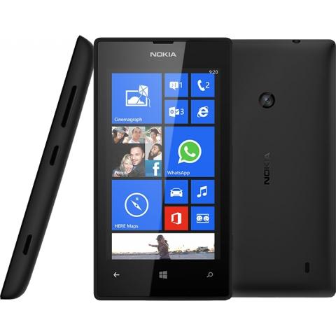Smartfon NOKIA Lumia 520 Black za 469 zł @ Media Expert