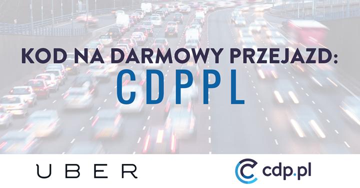 35zł na przejazdy z Uber (możliwy DARMOWY GAMEBOOK) @ CDP.pl