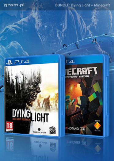 Dying Light + Minecraft (PS4) za 169,99zł @ Gram.pl