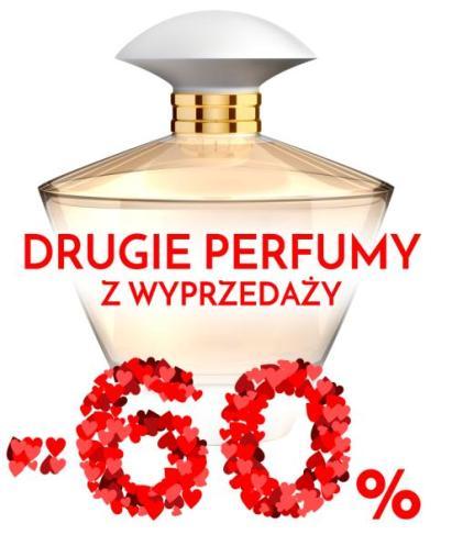 Drugie perfumy z wyprzedaży 60% taniej @ Superpharm