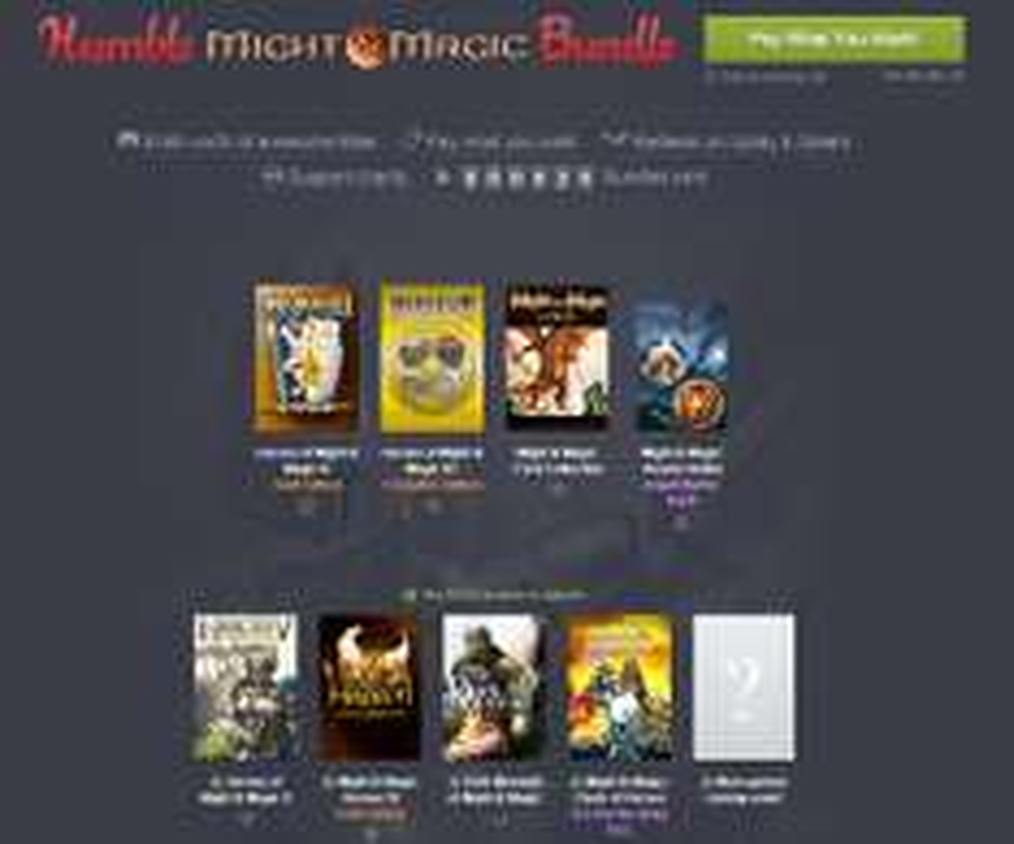 Might & Magic Bundle od ~ 3,68zł @ Humble Bundle