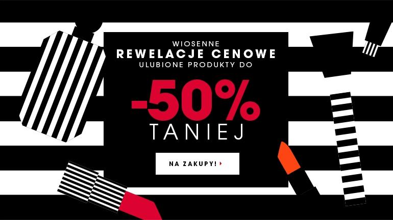 Do 50% zniżki na wybrane produkty @ Sephora