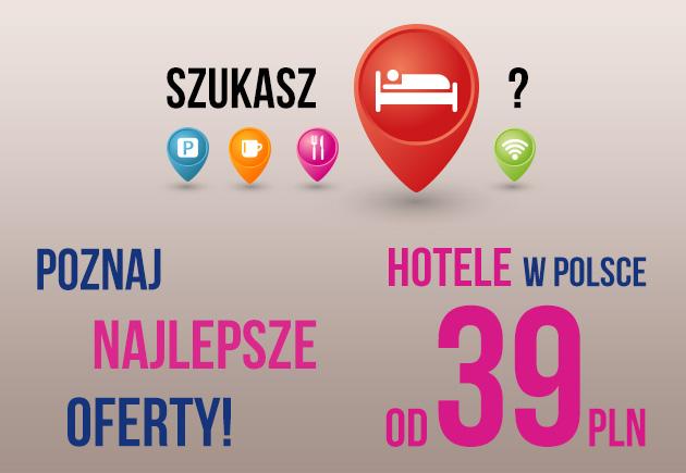 2 osobowe pokoje hotelowe za 39zł w całej Polsce @ Ibis Budget