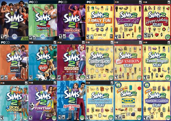 The Sims 2, pełna wersja gry z dodatkami ZA DARMO @ ORIGIN