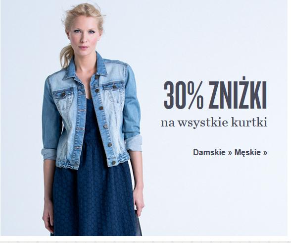 Kurtki tańsze o 30% @ KappAhl
