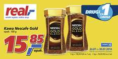 Kawa Nescafe Gold Blend 2x100g za 15.86zł @ Real