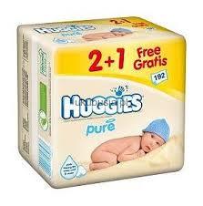 Chusteczki nawilżane dla dzieci Huggies w cenie 9,99zł/3op. @ Kaufland