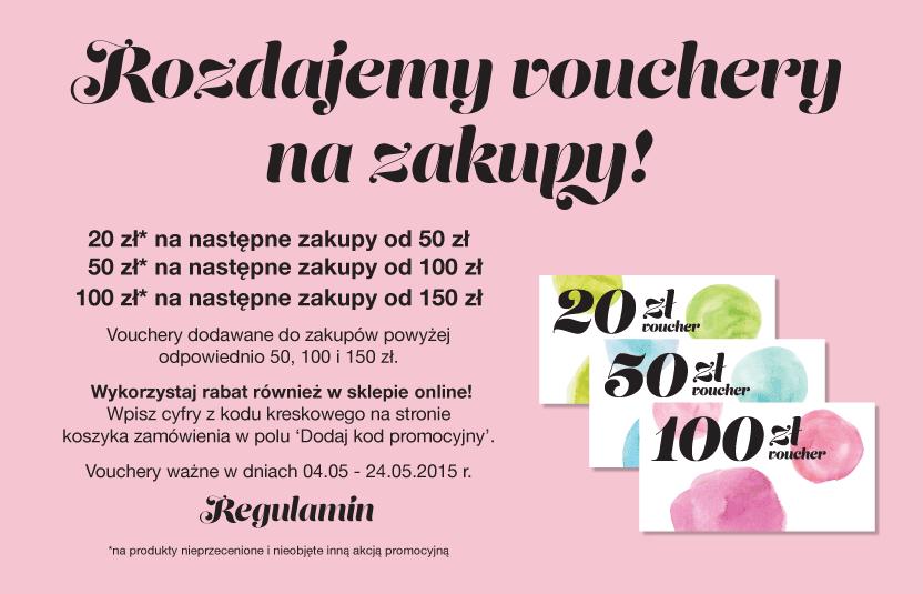 Vouchery 20, 50 i 100zł na następne zakupy @ Home&You