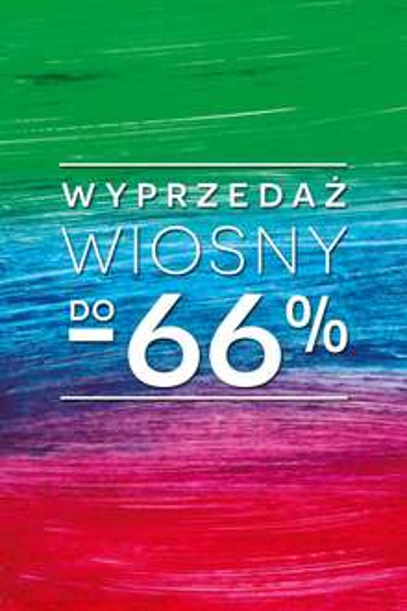 Wiosenna wyprzedaż i rabaty do -66% @ Bytom