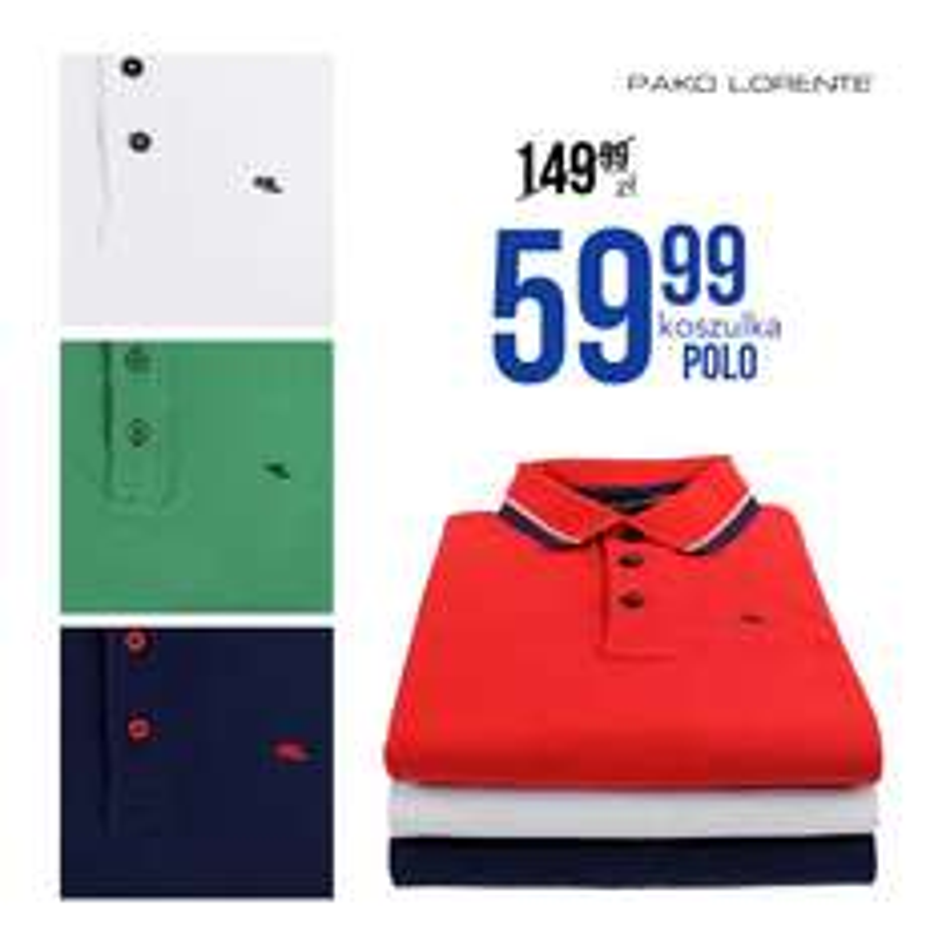 Koszulki POLO -60% @ Pako Lorente