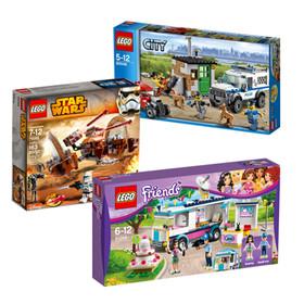 Zestawy Lego tańsze o ponad połowę @ Tesco