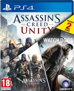 Assassin's Creed: Unity + WatchDogs (PS4, XONE, PC) za ok. 155zł @ GAME