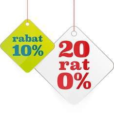 10% rabatu na meble i dodatki + 20 rat 0% @ Black Red White