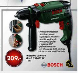 Wiertarka udarowa Bosch PSB 650 RE w cenie 209zł @ Netto