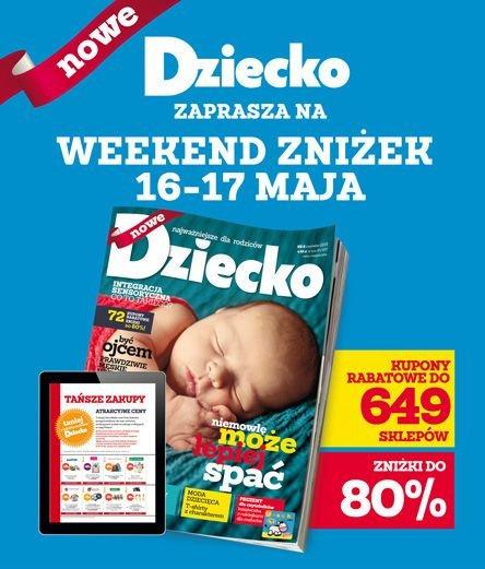 Kupony rabatowe na zakupy artykułów dziecięcych (do -80%!!) @ Dziecko