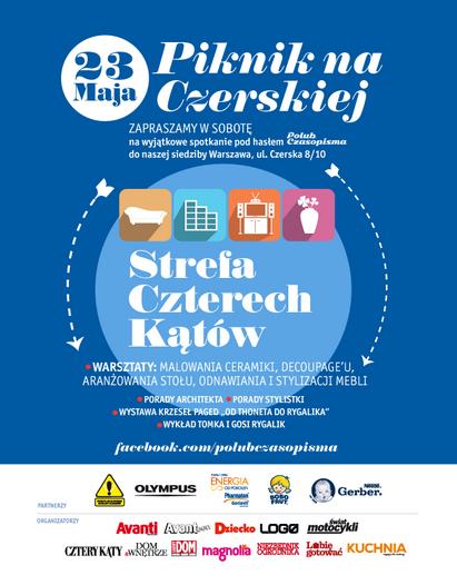 Warsztaty dla całej rodziny - Piknik na Czerskiej (Warszawa)